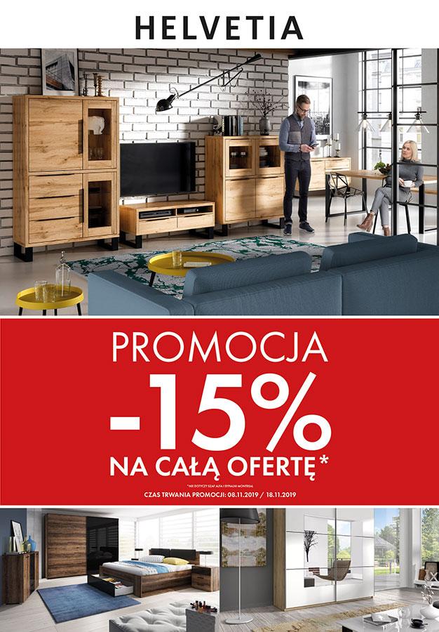 -15 % NA CAŁY ASORTYMENT